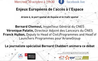 Les enjeux Européens de l'accès à l'Espace